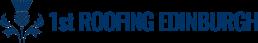 1st Roofing Edinburgh logo blue