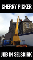 cherry picker job in Selkirk