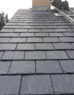 grey slate roofing tile