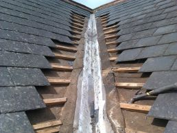valley gutter roof repair